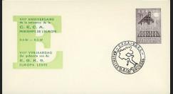 CECA7 : 1958 - FDC Belgique '8e anniversaire de la CECA'