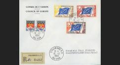 AP4b : 1958 - Env. de service CE '4e session de la présidence de Schuman'