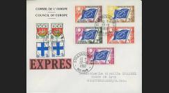 AP8b : 1959 - Env. de service CE EXPRES '8e session de la présidence de Schuman'