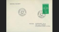 AP10 : 1959 - Env. de service PE '10e session de la présidence de Schuman'