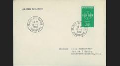 AP11 : 1960 - Env. de service PE '11e session de la présidence de Schuman'