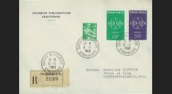 AP11a : 1960 - Env. de service PE RECO '11e session de la présidence de Schuman'