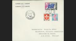 AP11c : 1960 - Env. de service CE '11e session de la présidence de Schuman'