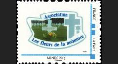 DEB10-2N : 2010 - TPP France 'Les fleurs de la mémoire' - Monde 20g
