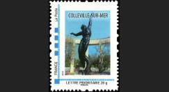 DEB10-3N : 2010 - TPP France 'Statue cimetière américain de Colleville-sur-Mer' - Lettre prio 20g