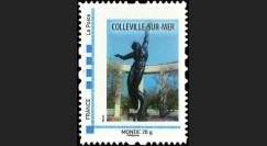 DEB10-4N : 2010 - TPP France 'Statue cimetière américain de Colleville-sur-Mer' - Monde 20g