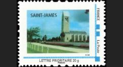 DEB10-5N : 2010 - TPP France 'Britany American Cemetery Saint-James' - Lettre prio 20g