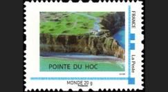 DEB10-8N : 2010 - TPP France 'Vue aérienne de la Pointe du Hoc' - Monde 20g