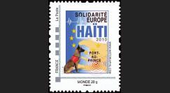 HAITI-N2 : 2010 - TPP 'Europe Solidarité Haïti 2010' - Monde 20g
