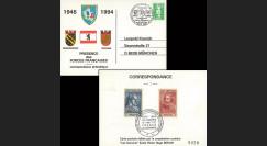 BERL94-FFA : 1994 - CP 'Présence des Forces françaises à Berlin 1945-1994'