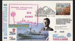 BSS1L : 1992 - Le BSS Rance au secours de la population de Dubrovnik