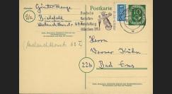 BERL48-NOT2 : 1952/53 - EP République Fédéral allemande 1951-54