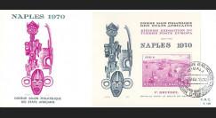 EU70-RWB : 1970 - FDC 1er Jour Rwanda 'Naples