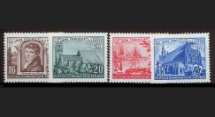 DDR109-112 : 1953 - 4 valeurs DDR '7e centenaire de Francfort-sur-l'Oder'