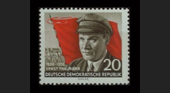DDR241 : 1956 - 1 valeur DDR 'Ernst Thälmann