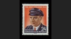 DDR170 : 1954 - 1 valeur DDR 'Ernst Thälmann