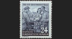 DDR137 : 1953 - 1 valeur DDR 'Journée du Timbre'