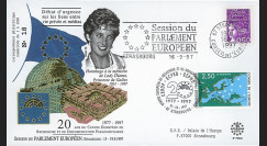 PE348 : 1997 - FDC Session du Parlement européen 'Hommage à Lady Diana' - type1