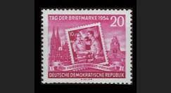 """DDR175 : 1954 - 1 valeur DDR 'Journée du Timbre 1954"""""""