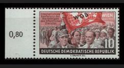 DDR189 : 1955 - 1 valeur DDR '2e Conférence international du travail à Vienne'