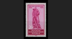 DDR197 : 1955 - 1 valeur DDR '10e anniversaire de la Libération'