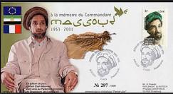 PE472 : 2003 - FDC 1er Jour timbre français MASSOUD 1953-2001