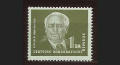DDR72 : 1952 - 1 valeur 1 DM DDR 'Wilhelm Pieck