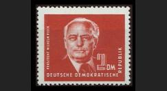 DDR72A : 1952 - 1 valeur 2 DM DDR 'Wilhelm Pieck
