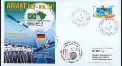 V191L-T1 : 2009 - FDC Kourou Vol 191 Ariane 549 - Amazonas 2 & COMSATBw-1