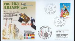 V193L-T1 : 2009 - FDC Kourou Vol 193 Ariane 532 - HELIOS 2B
