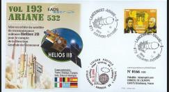 V193L-T2 : 2009 - FDC Kourou Vol 193 Ariane 532 - HELIOS 2B