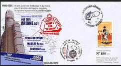 V164L type2 : 2005 - Ariane 5 E/CA 10 tonnes Vol 164