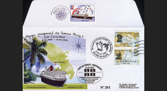 QM2-5T2 : 2004 - Première escale du Queen Mary 2 en Martinique - TP Navigateurs
