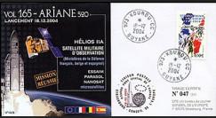 V165L type1 : 2004 - Ariane Vol 165 satellite militaire d'observation Hélios IIA