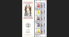 """DG10-9C4 : Carnet porte-timbre """"70e anniv. Appel 18 juin 1940"""" - TVP Marianne SPM rouge"""