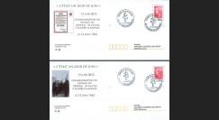 """DG10-10 : 2010 - 2 PAP locaux """"Appel 18 juin & passage Gal de Gaulle à Scorbé-Clairvaux"""""""