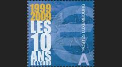 PE570-LUX-N : 2009 - TP Luxembourg '10 ans de l'Euro'