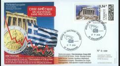 """PE590 : 2010 - FDC Session PE """"Crise grecque : un sauvetage sans précédent"""""""