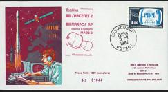 SEP 15L : 1984 - FDC de la SEP Ariane V11 sat. SPACENET 2 & MARECS B2