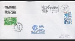AR 23LA : 1984 - Env. officielle Parlement eur. Ariane V11 sat. SPACENET 2 & MARECS B2