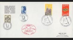 AR 26LA : 1985 - Env. officielle Parlement eur. Ariane V13 - sat. TÉLECOM 1B & GSTAR