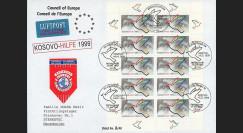 KO-D99BFL : 1999 - Maxi-FDC 1er jour feuillet 'Kosovo Hilfe'