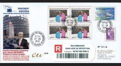 """PE594a : 2010 - PAP reco Session PE """"1ère intervention à Strasbourg de M. Van Rompuy"""""""
