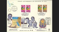 """PE320 : 13.3.96 - FDC """"Sommet Antiterroriste des Bâtisseurs de Paix"""
