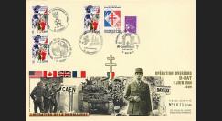 DEB 04-5 : 2004 - FDC D-Day - Libération de la Normandie
