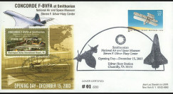 "CO-RET V16 : 2003 - USA - FDC ""Concorde F-BVFA au musée de Smithonian"""
