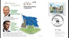 """PE599 : 2010 - FDC PE """"Bilan présidence belge et programme présidence hongroise de l'UE"""""""