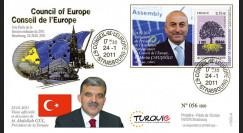 """CE62-I : 2011 - FDC CE """"M. GÜL"""