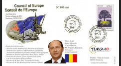 """CE62-IA : 2011 - FDC CE """"Discours de M. Traian Băsescu"""