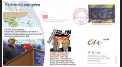 """BR109 : 2010 - FDC Bruxelles """"Discours du Président du Timor-Leste"""